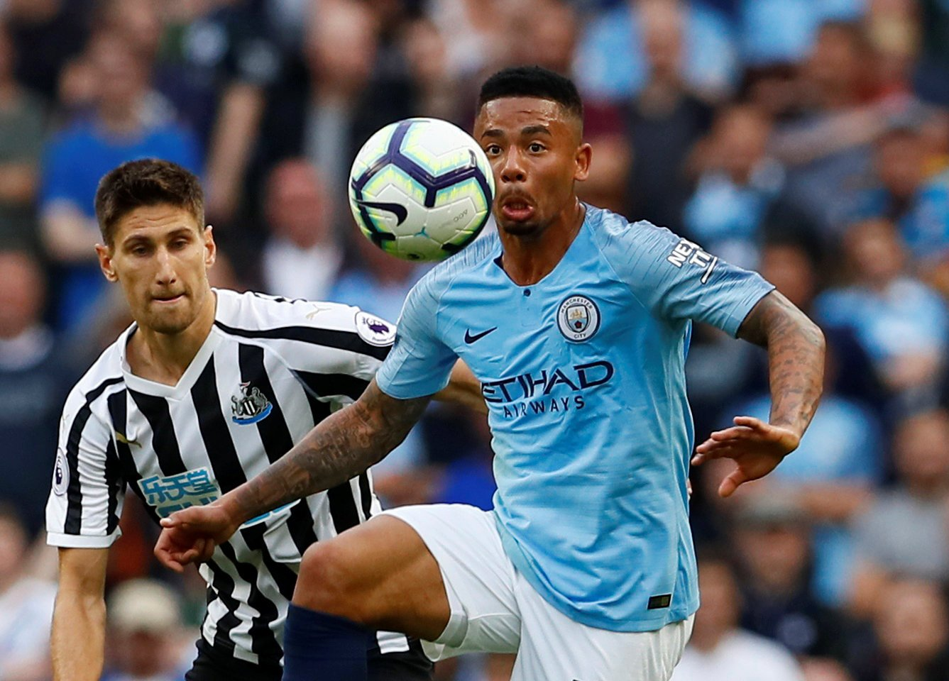 Manchester City: Gabriel Jesus to miss Brighton game with hamstring injury