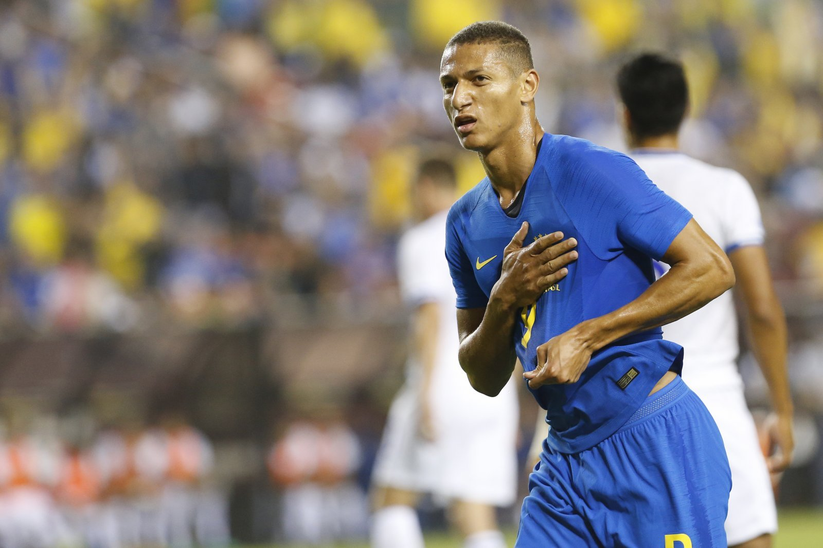 Fans laud Richarlison following his brace on international duty