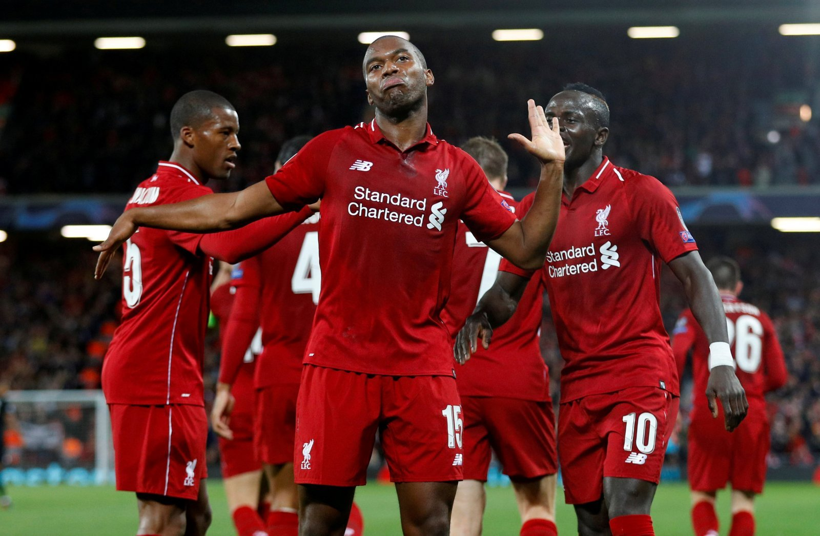 Liverpool fans over the moon as Sturridge wins LFC Player of the Month