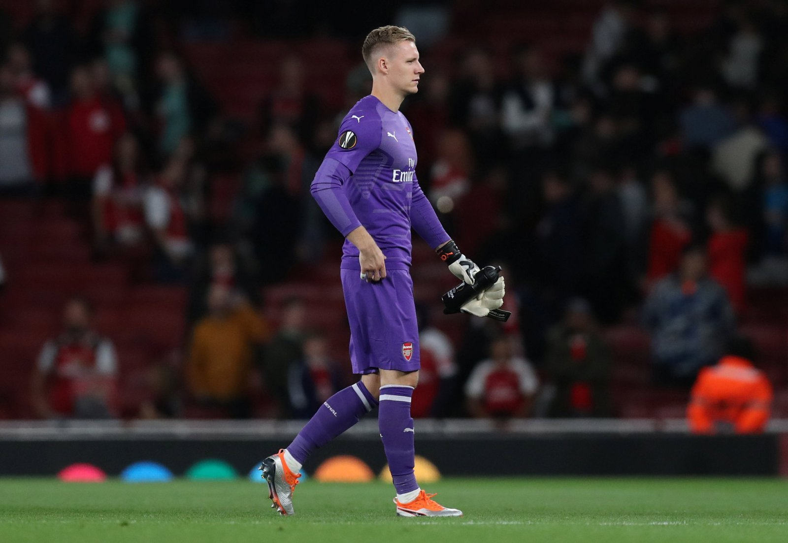 Arsenal fans were pleased with recent Emery decision to start Bernd Leno