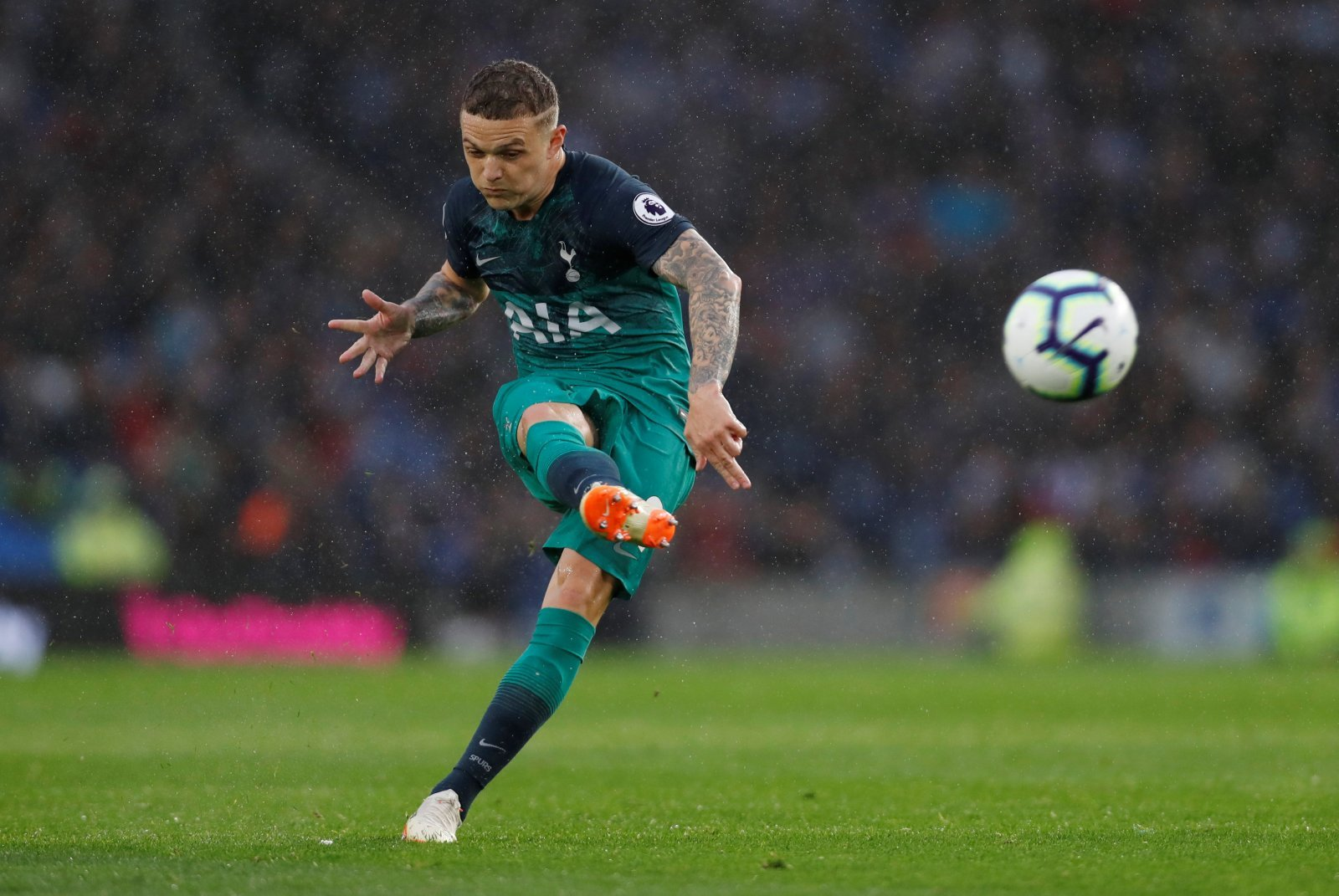 58% of Spurs fans think Kieran Trippier is better than Kyle Walker