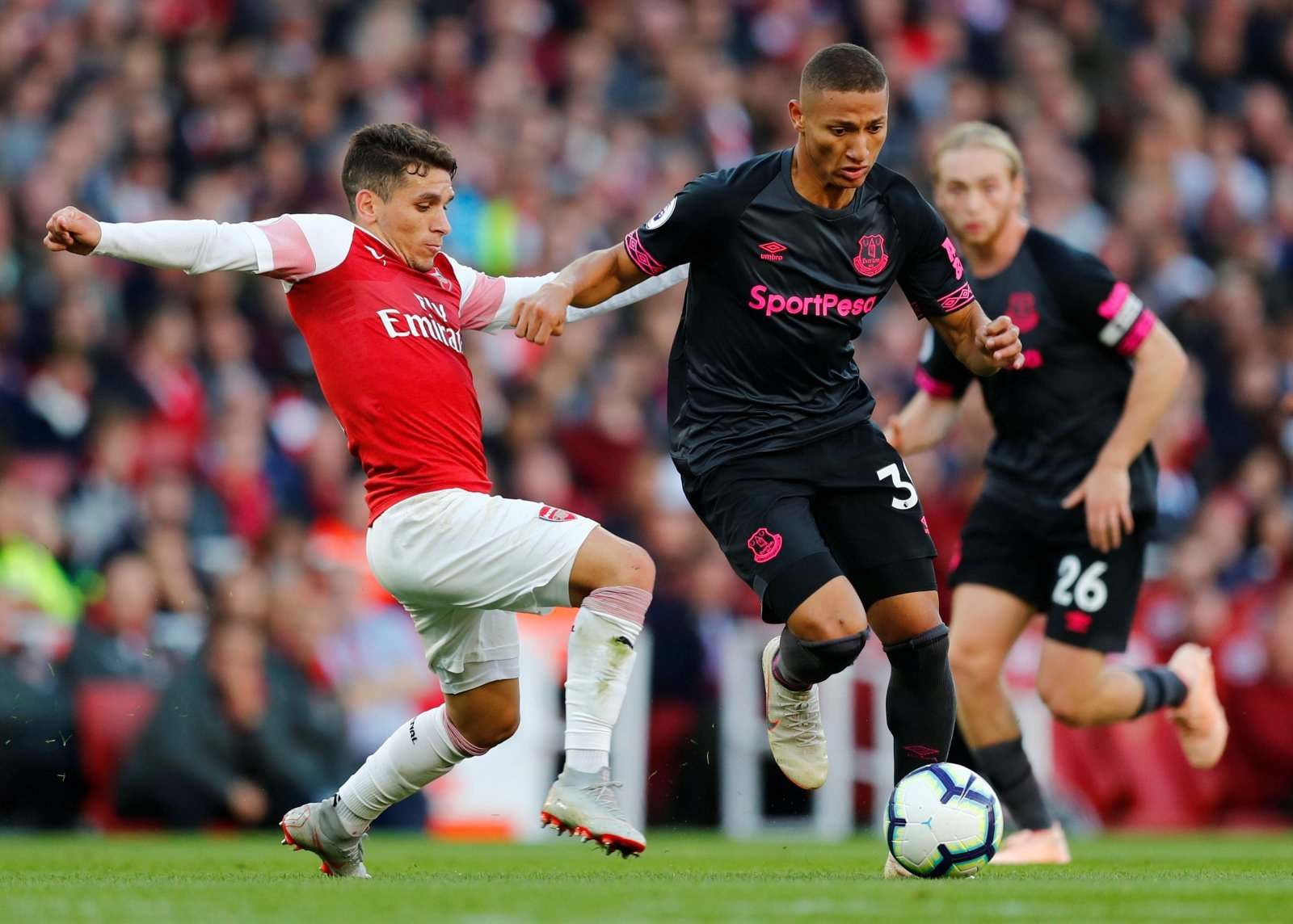 Richarlison is a doubt for Chelsea clash