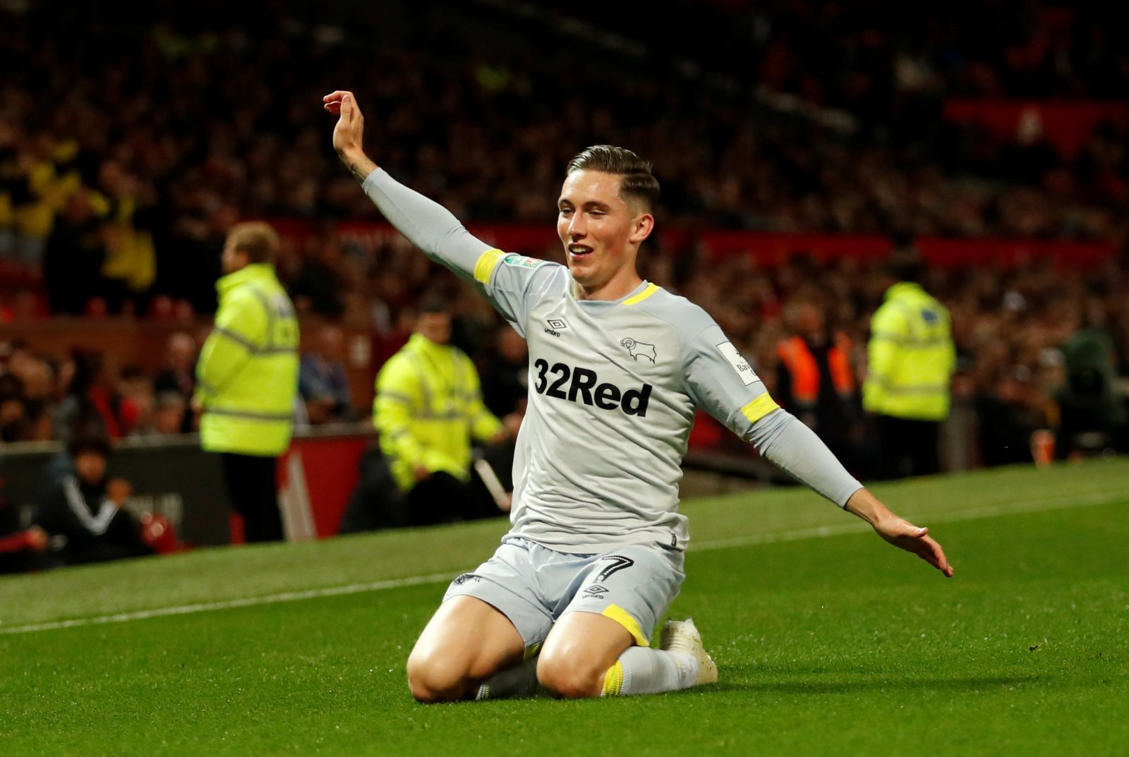 These Liverpool fans are simply in awe at Harry Wilson's goal for Derby