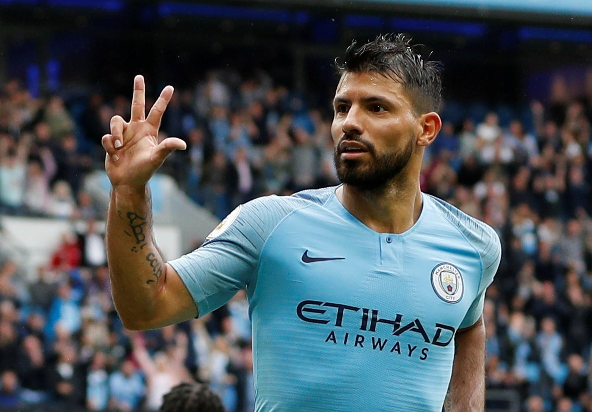 Sergio Aguero struggling to be fully fit for Liverpool clash