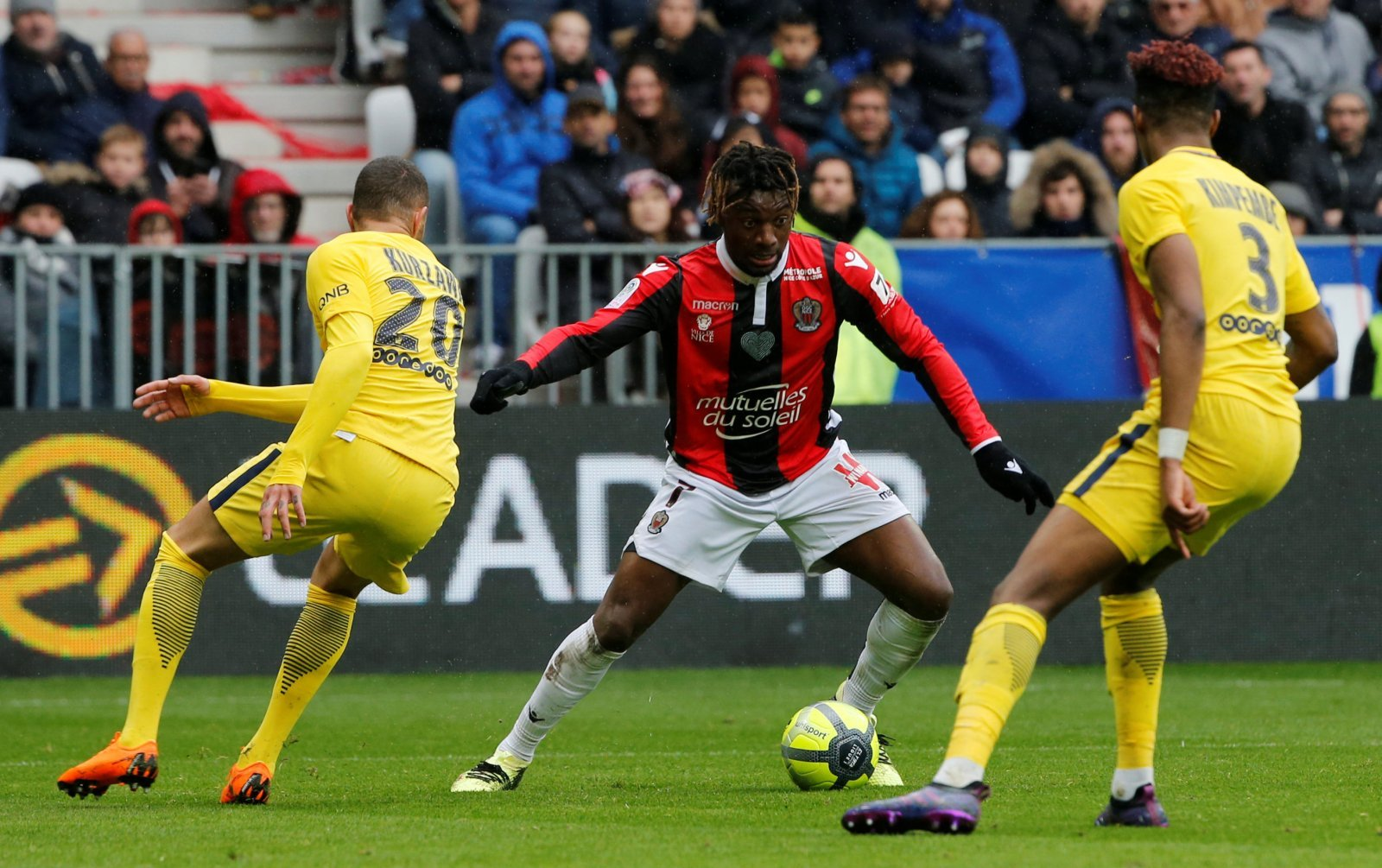 Crystal Palace: Eagles face competition from Watford for Allan Saint-Maximin