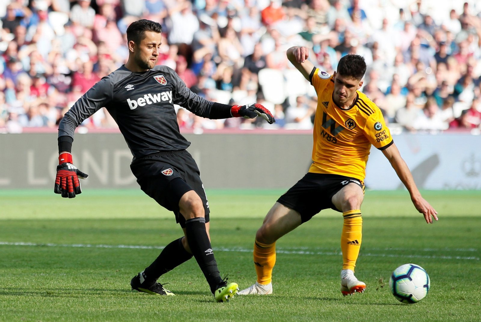 West Ham fans have singled out Lukasz Fabianski for some serious praise