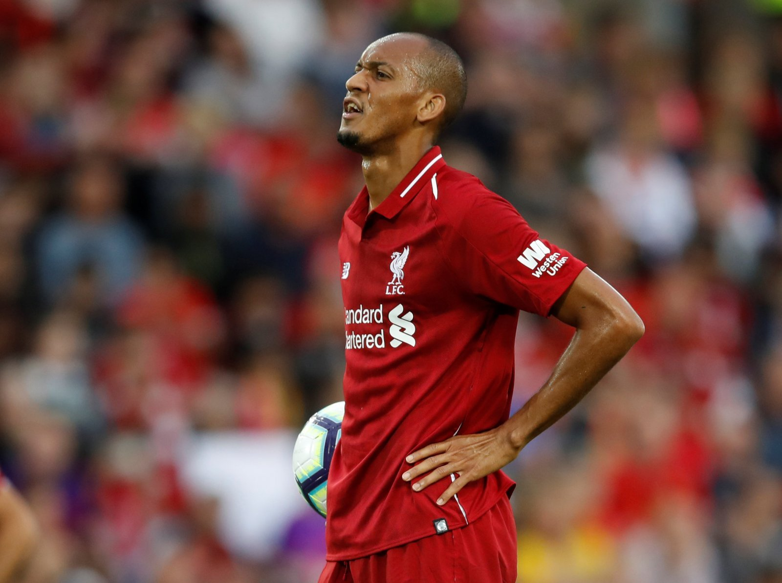 Liverpool fans on Twitter buzzing with Fabinho's debut