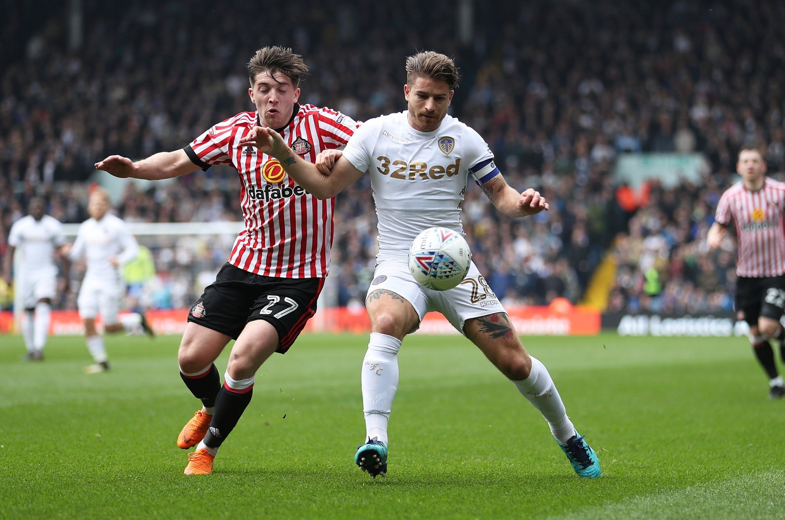 Leeds fans take to Twitter to berate Berardi after Derby dismissal