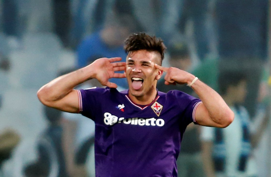 Giovanni Simeone would make himself a hero at Everton