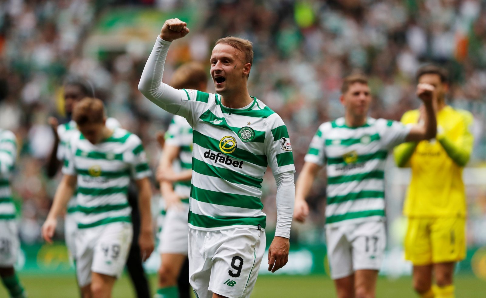 Leigh Griffiths shares positive update with fans on Twitter
