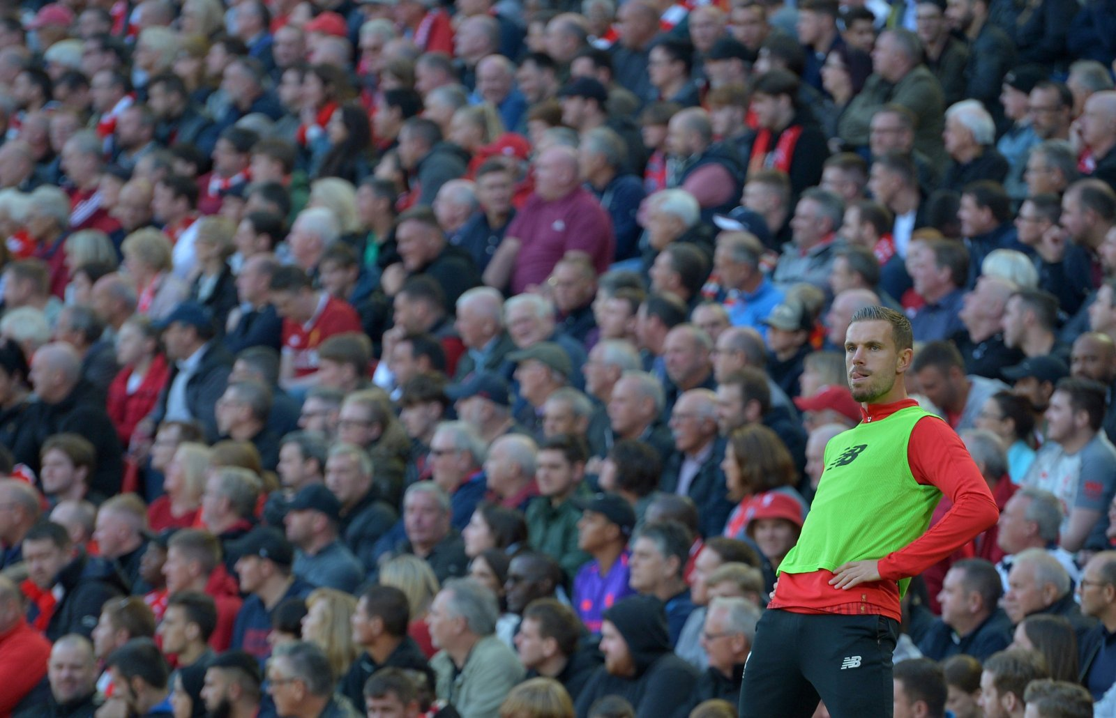 Jordan Henderson looks to be seen as expendable by Liverpool supporters
