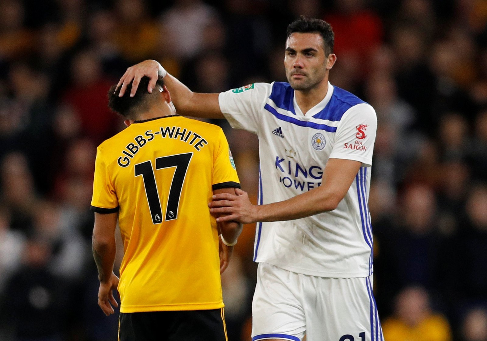 Leicester fans react to Vicente Iborra's Carabao Cup display