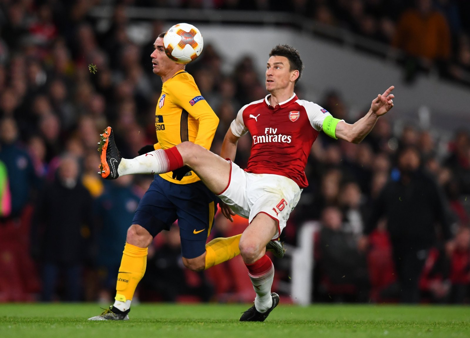 Arsenal: Laurent Koscielny refuses to travel for US pre-season tour