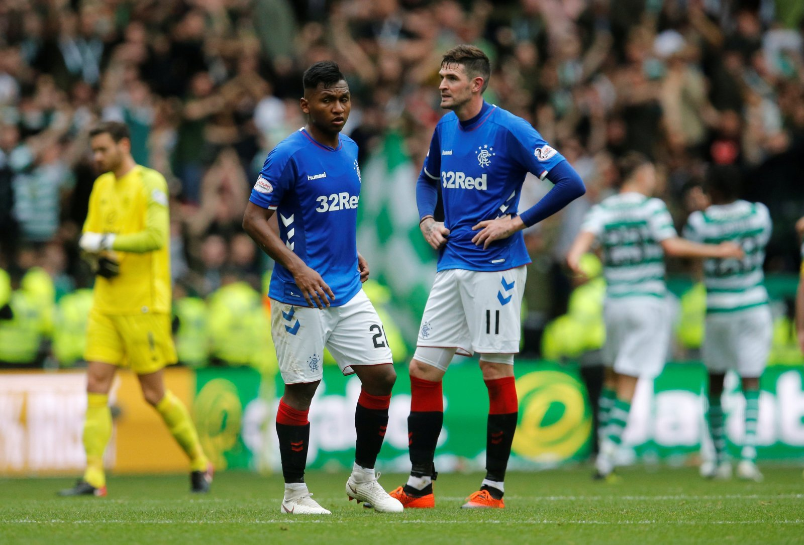 Alfredo Morelos cut from Colombia squad