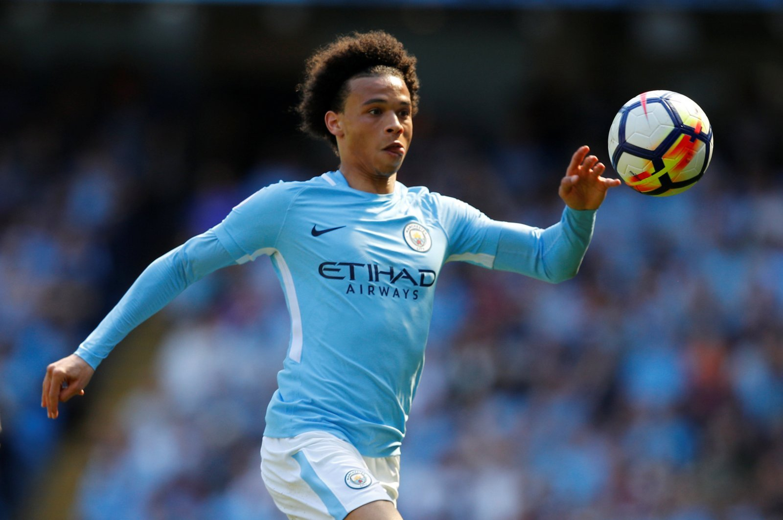 Guardiola urges Man City chiefs to give Leroy Sane new contract