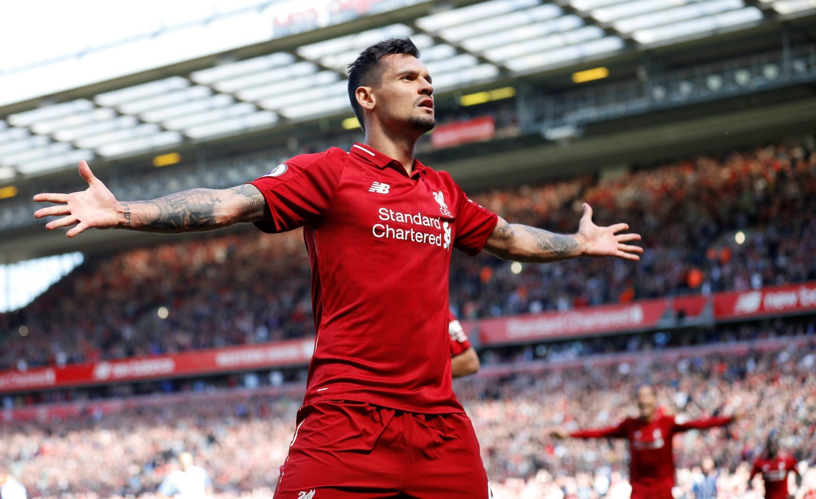 Dejan Lovren impressed plenty of fans with his return to action