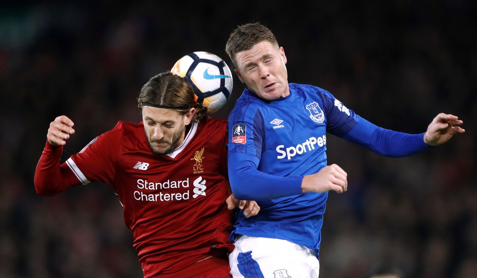 McCarthy faces a tough fight breaking into Everton's starting XI