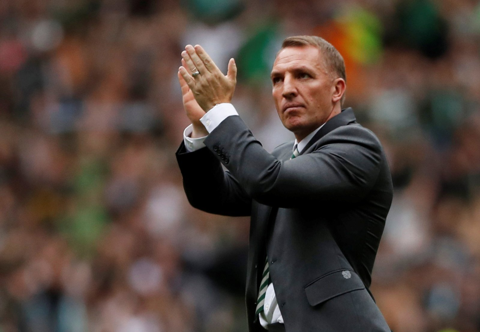 Celtic fans on Twitter don't believe the Rodgers to Villa rumours