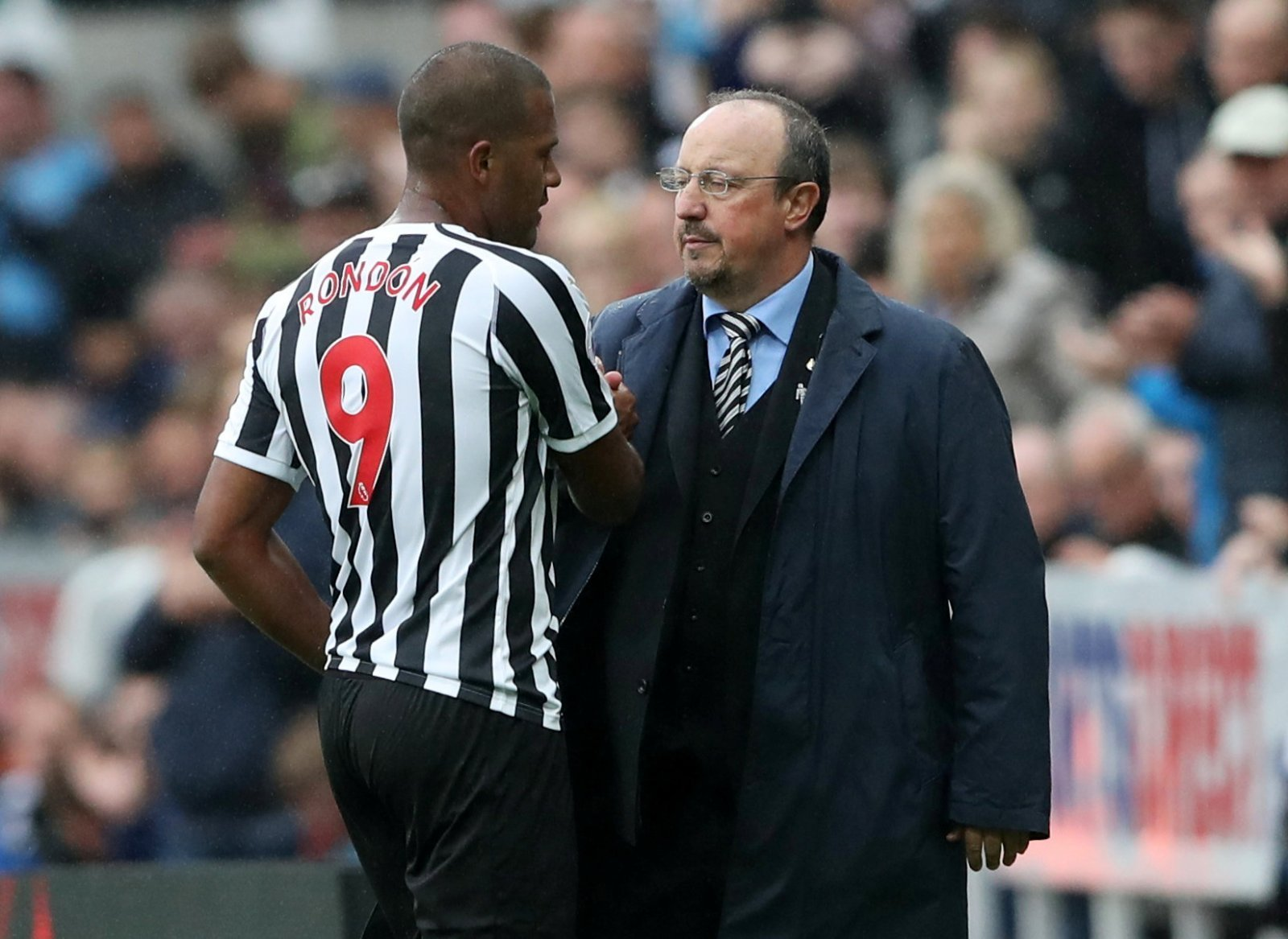 Rafa Benitez's substitutions have frustrated these Newcastle fans