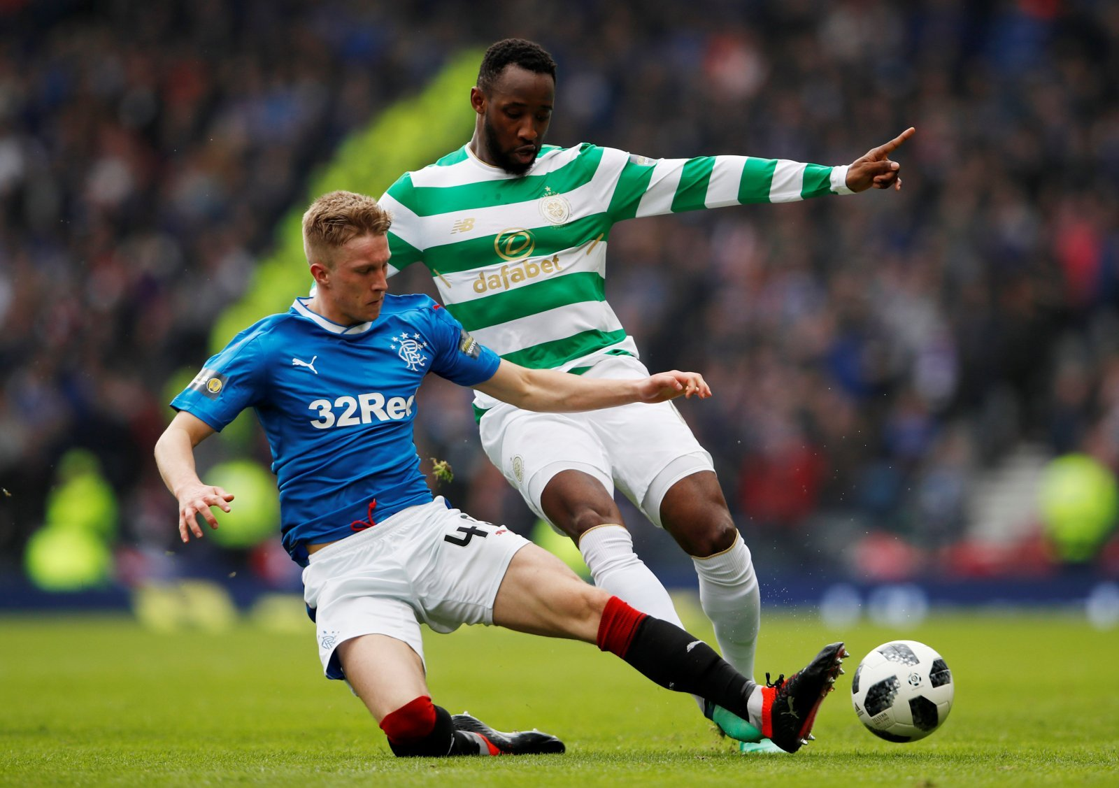 Rangers fans on Twitter laud Ross McCrorie despite Hibernian's disappointment