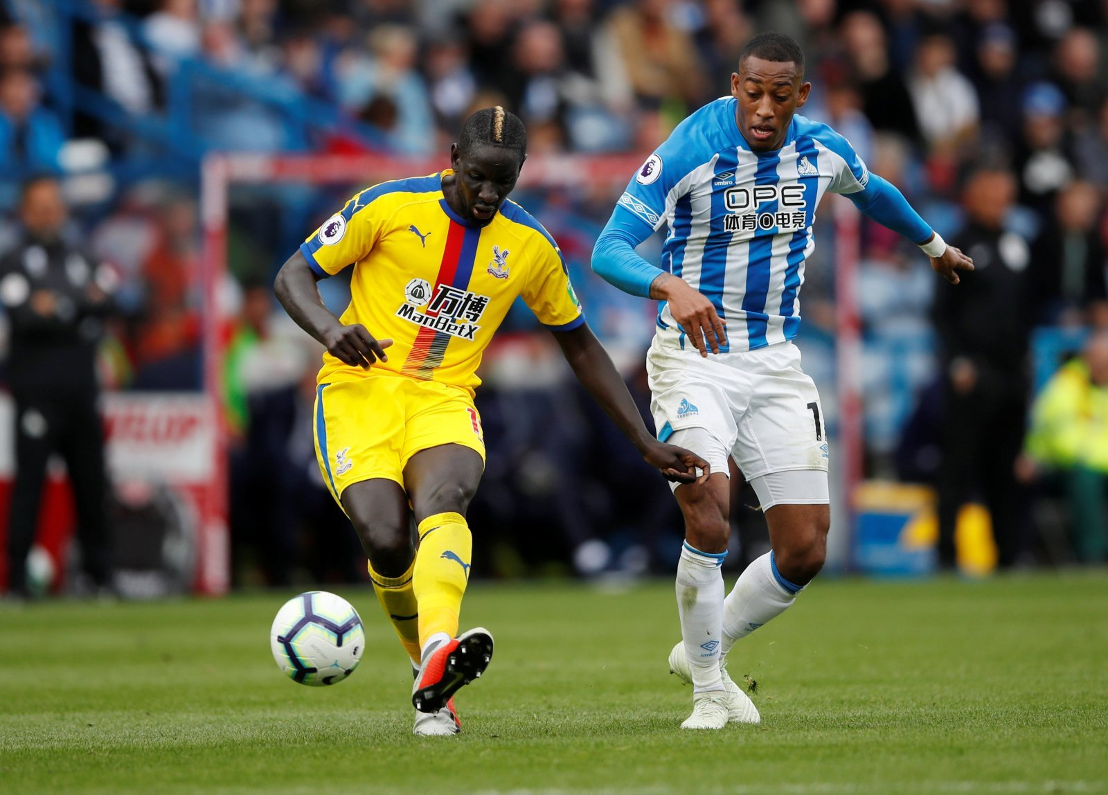 Crystal Palace: Fans have a lot of love for Mamadou Sakho after alleged Wilfried Zaha meeting