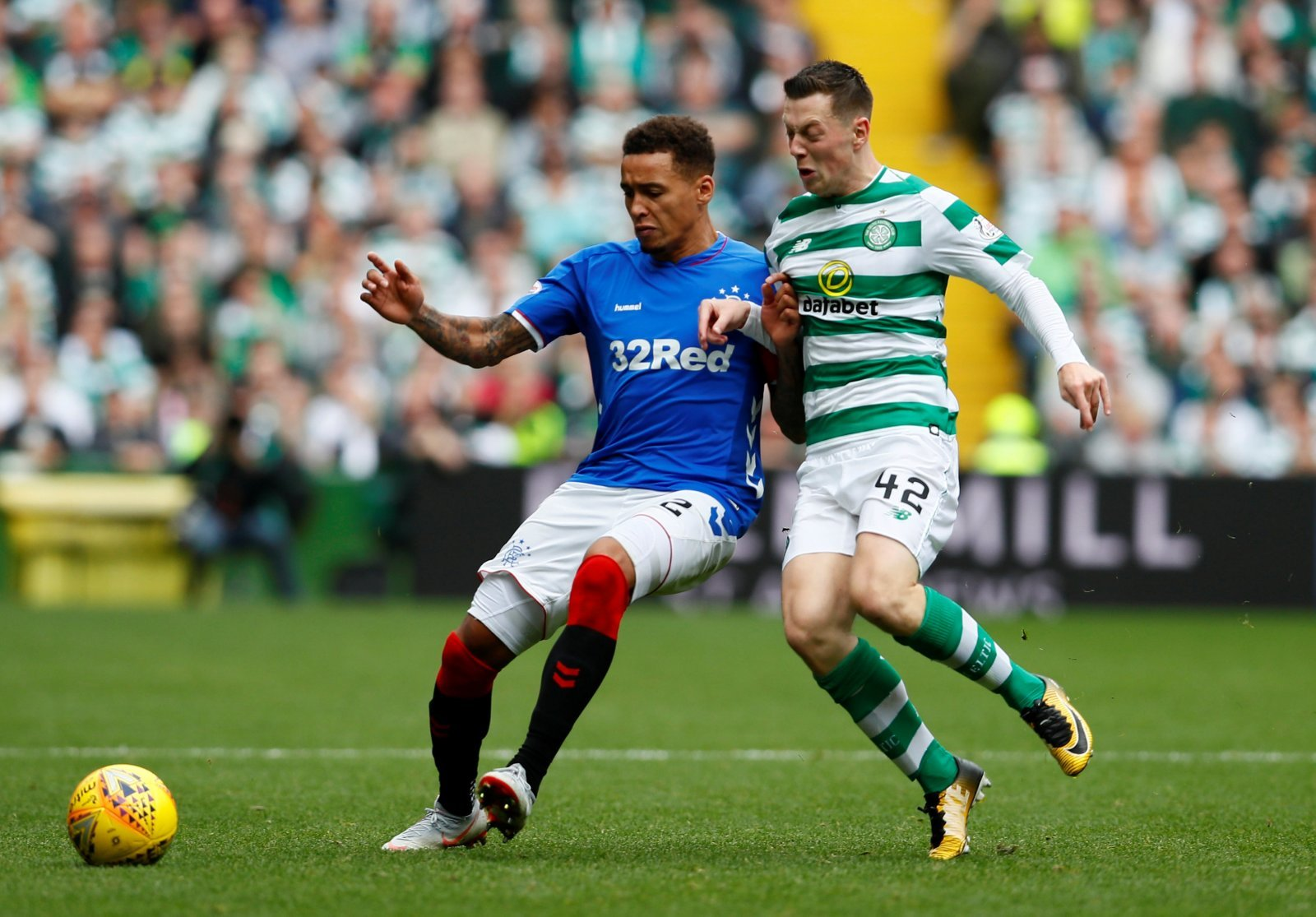James Tavernier's Rangers deal delighted Celtic fans on Twitter last night