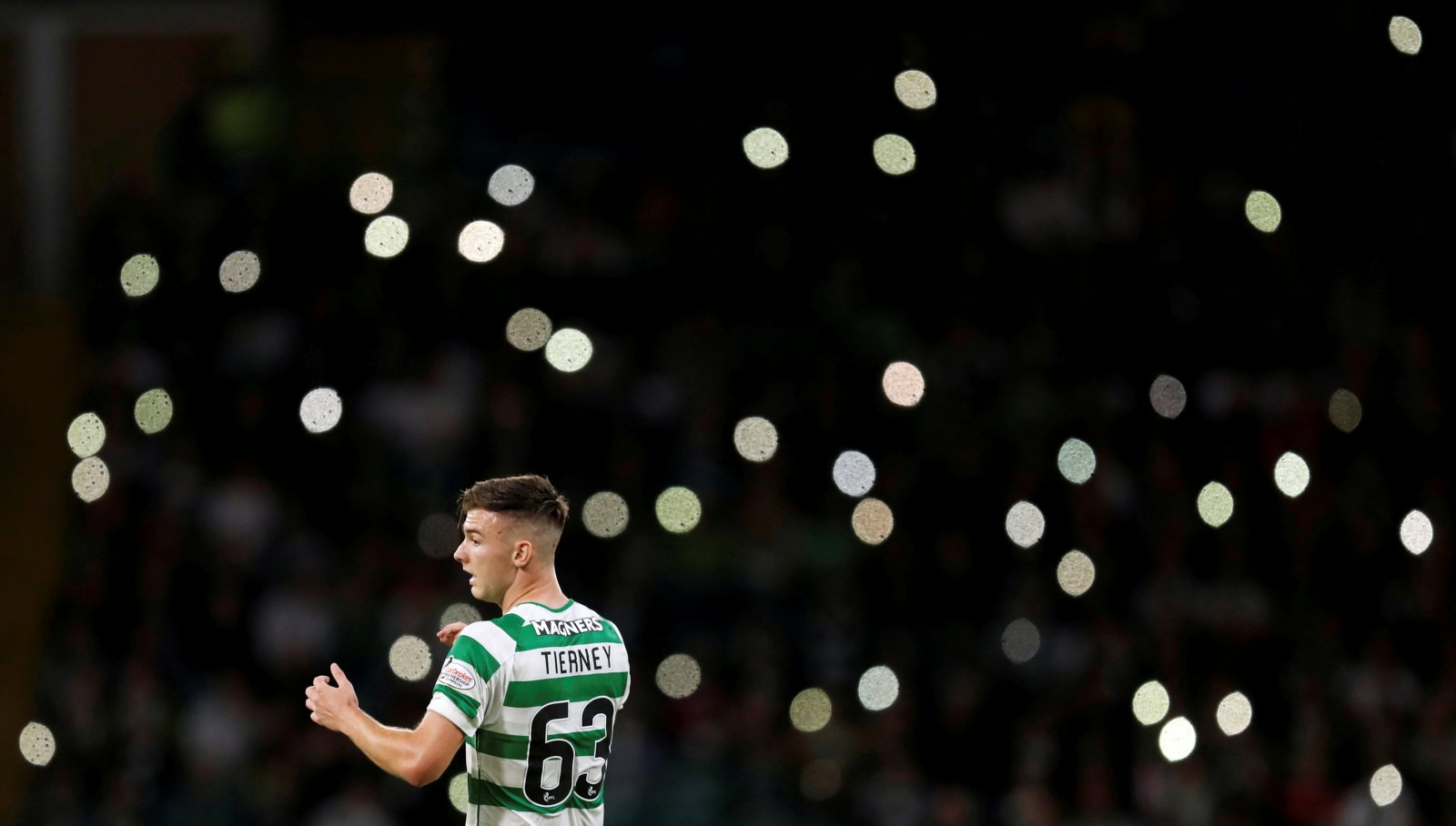 Kieran Tierney should be fine and ready for Thursday