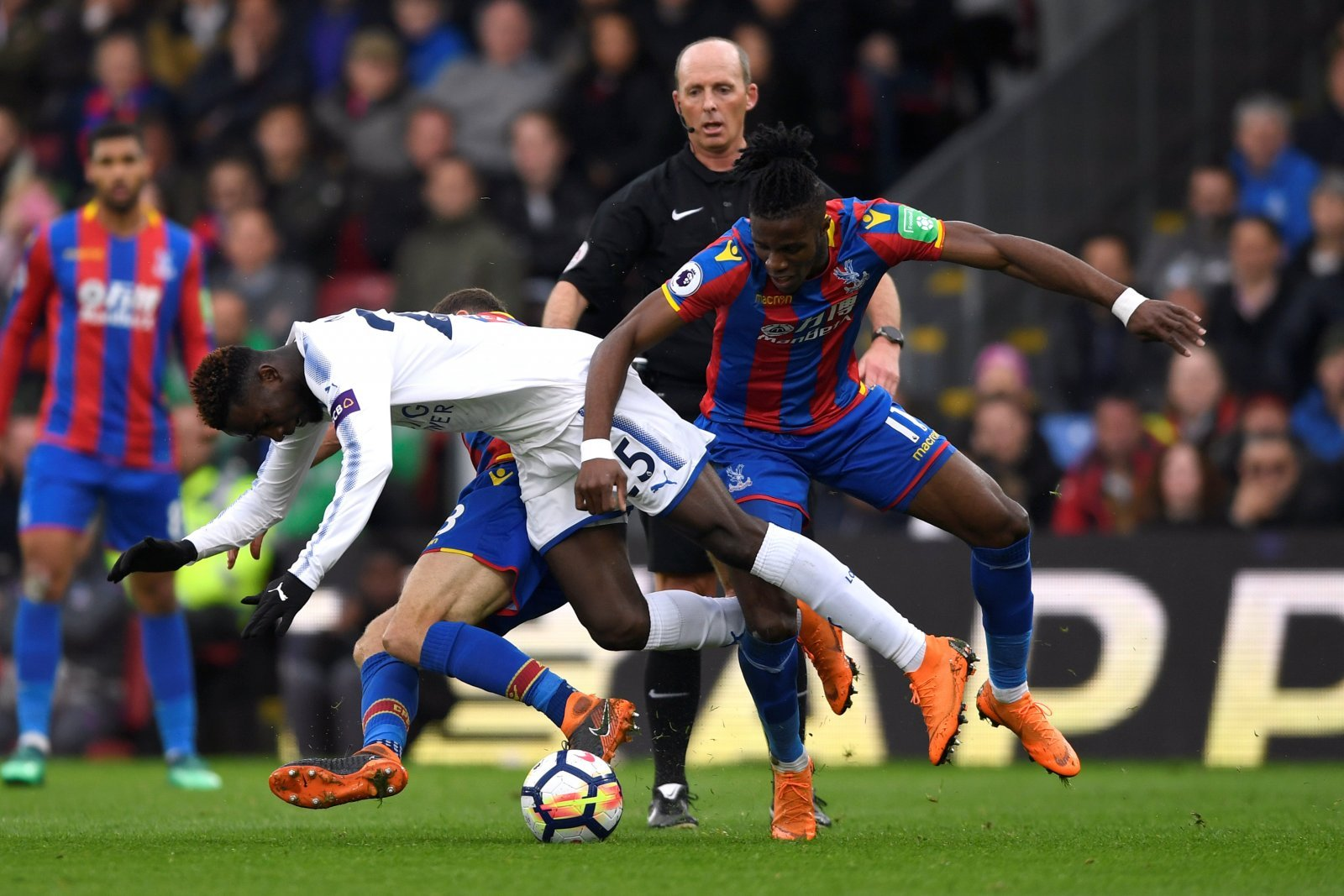 Deeney's comments on Crystal Palace star Zaha should be a wake up call for referees