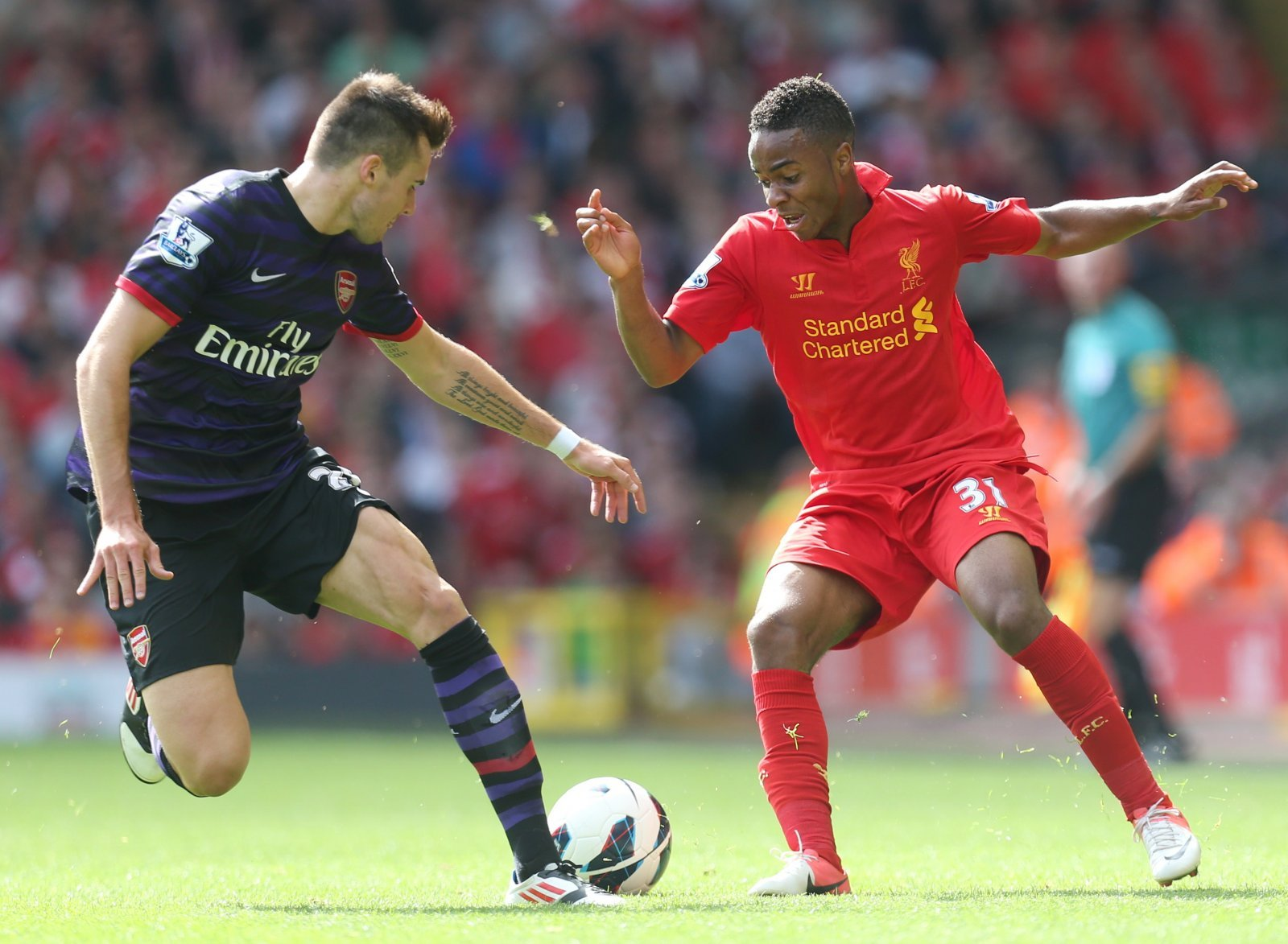 Raheem Sterling now thriving after Liverpool exit