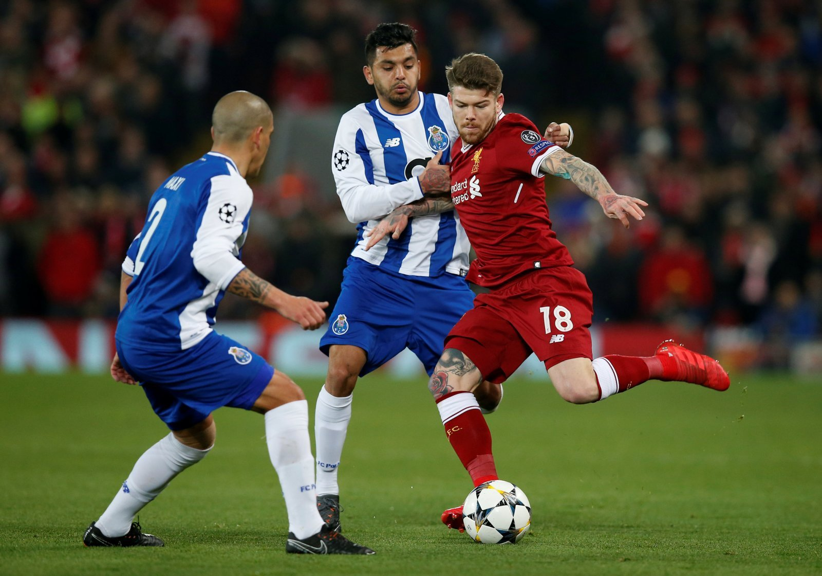 Alberto Moreno could be the perfect man to challenge Barry Douglas