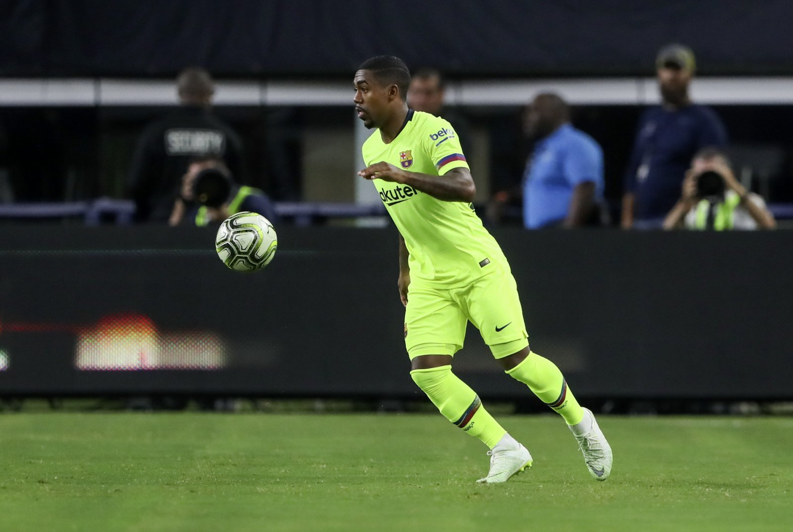 Arsenal eyeing a loan move for unhappy Malcom in January