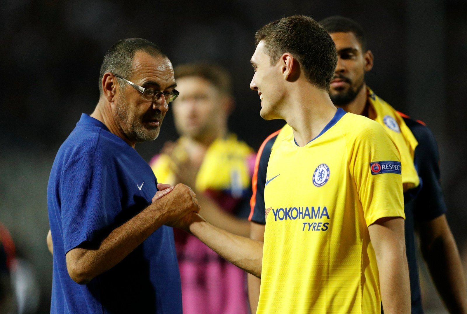 Chelsea fans aren't happy with Maurizio Sarri after Andreas Christensen comments
