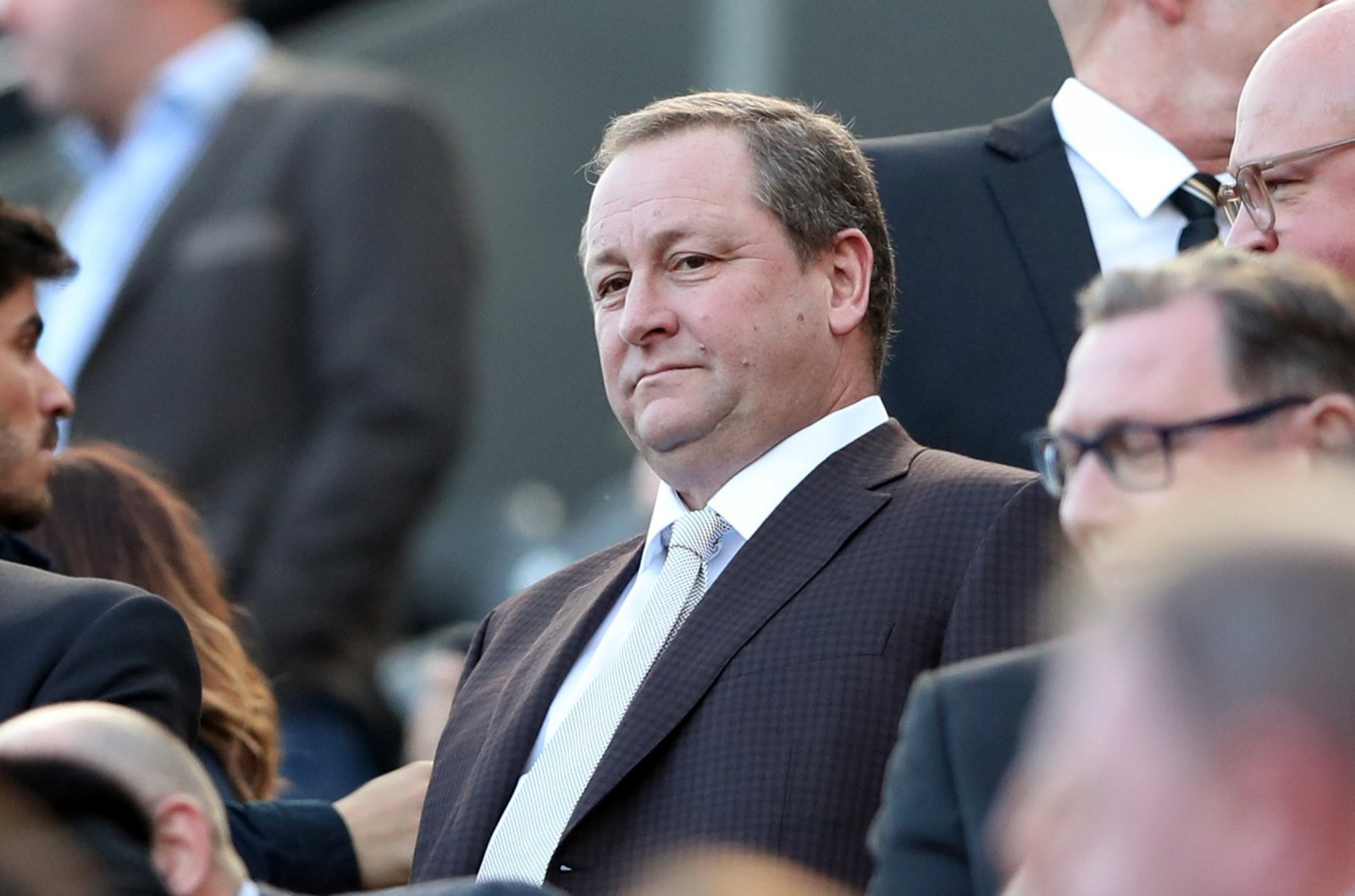 Mike Ashley takes Newcastle off the market as he is 'no longer looking to sell'