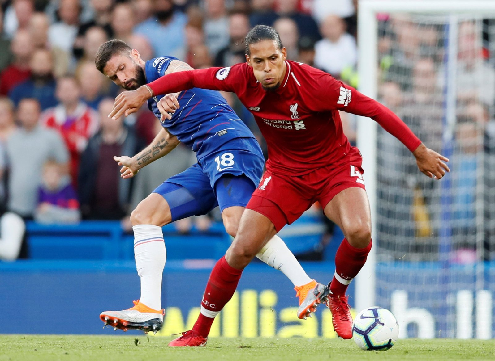 Virgil van Dijk is more popular than ever with the Anfield faithful