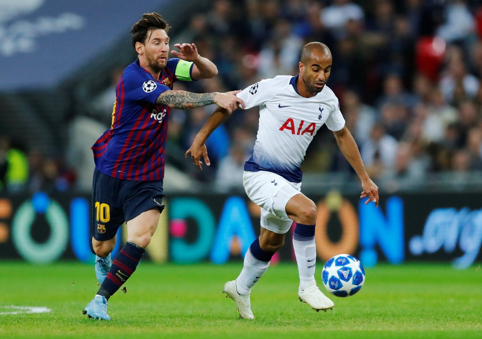 Tottenham fans react to Lucas Moura's Champions League performance