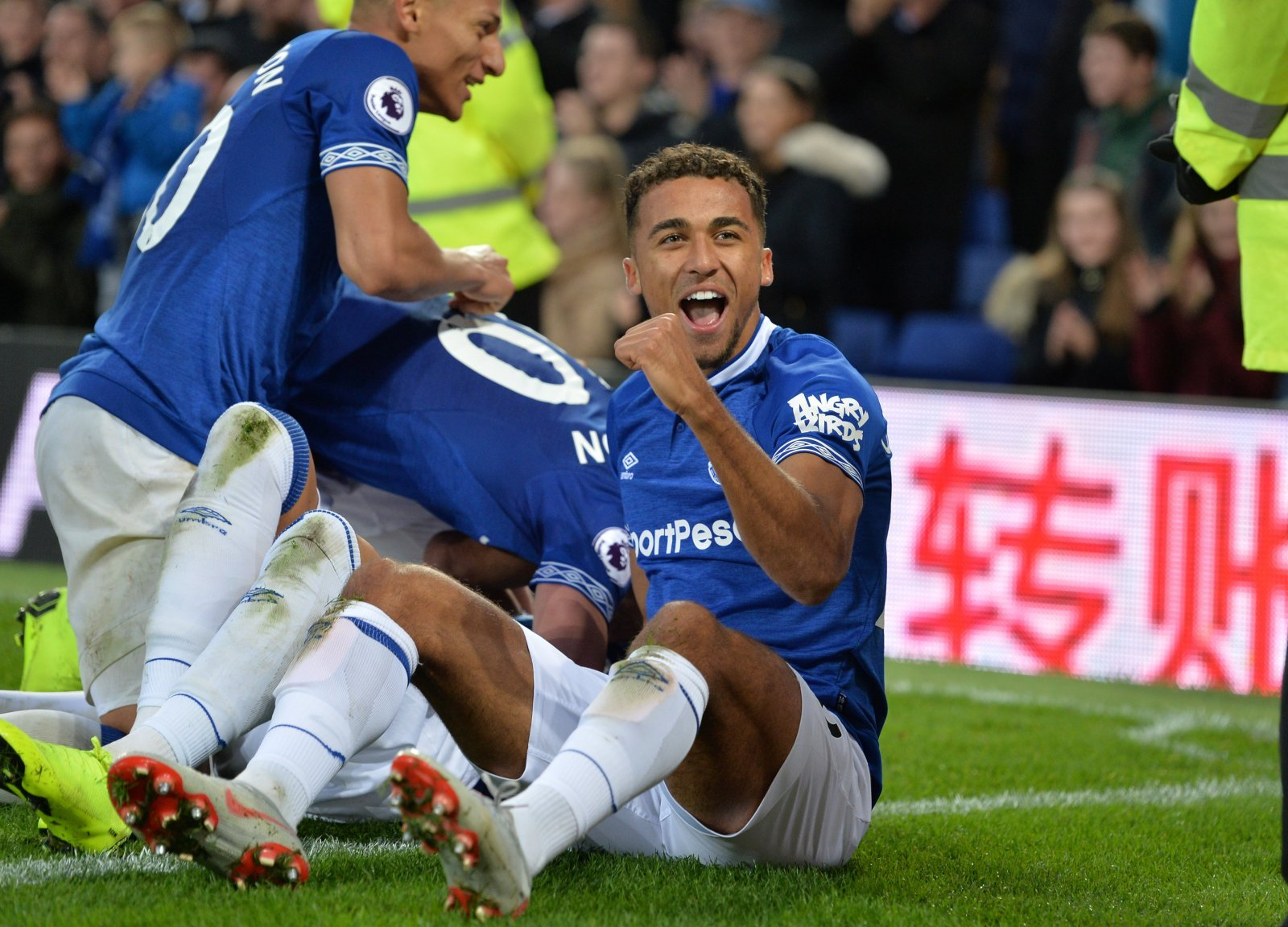 Image result for dominic calvert-lewin richarlison