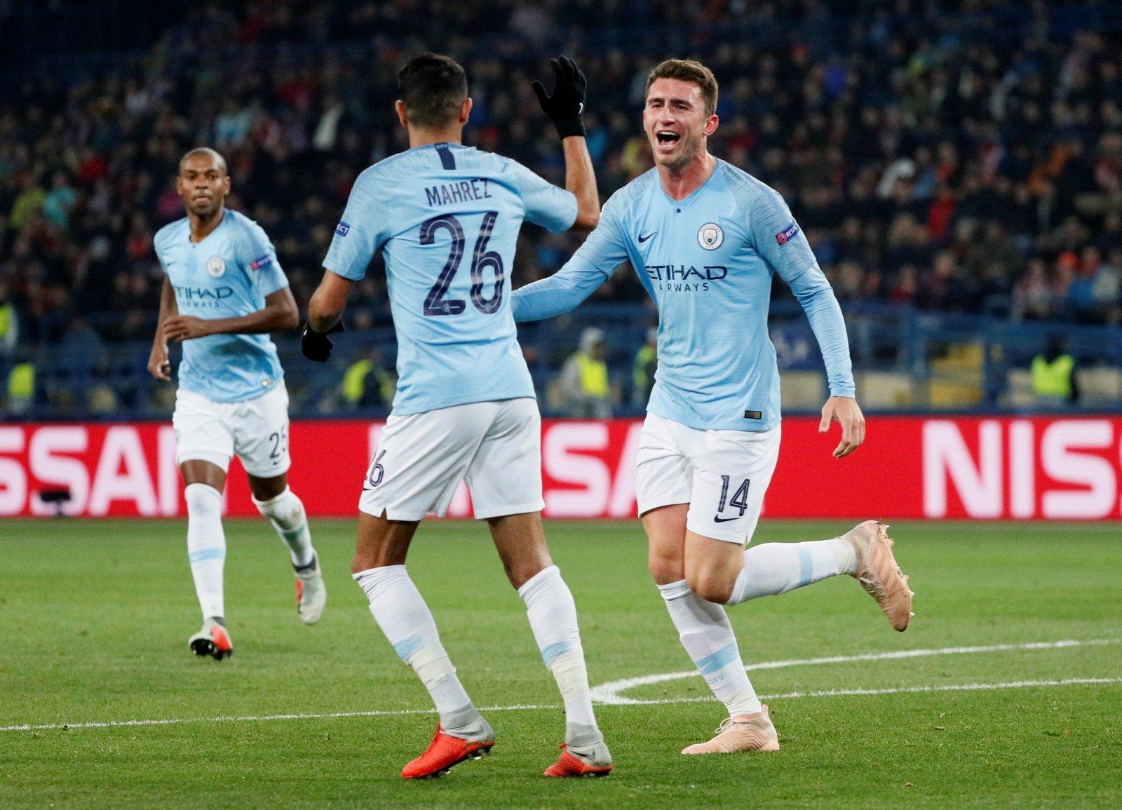 Manchester City: Aymeric Laporte to discover extent of knee injury after scans