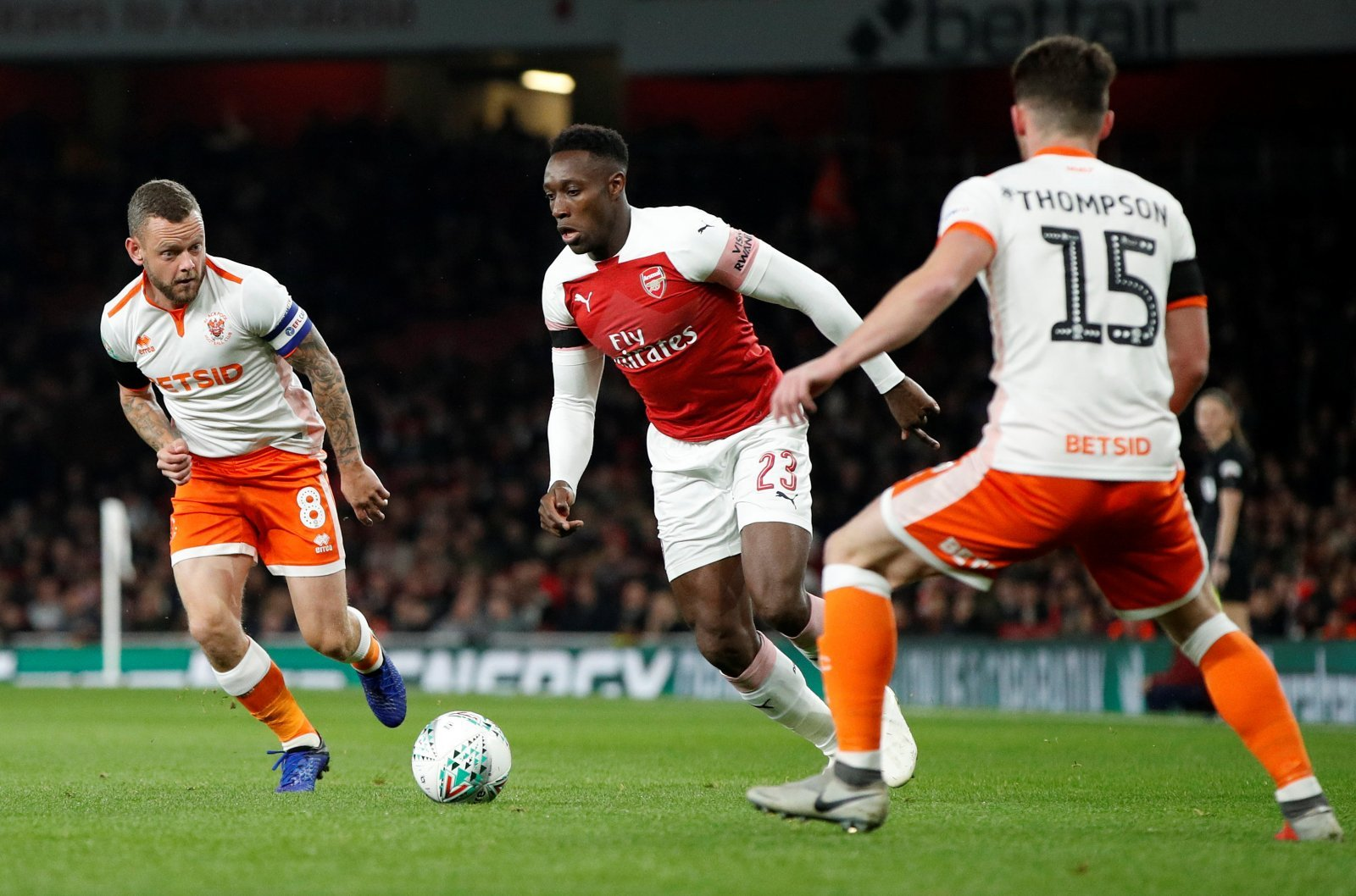 These Arsenal fans slated Danny Welbeck for his performance against Blackpool
