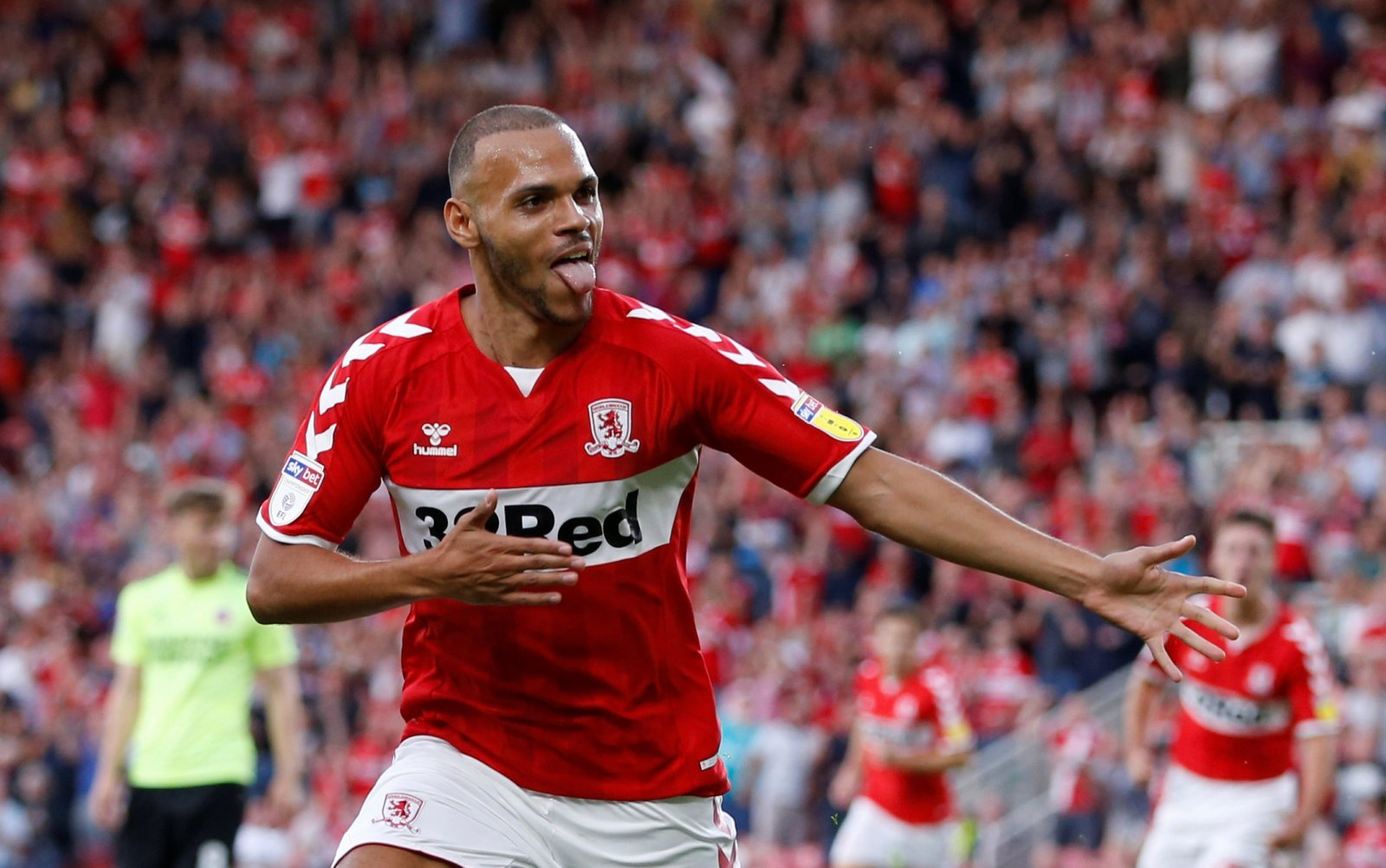 Middlesbrough fans are glad to see the back of Martin Braithwaite