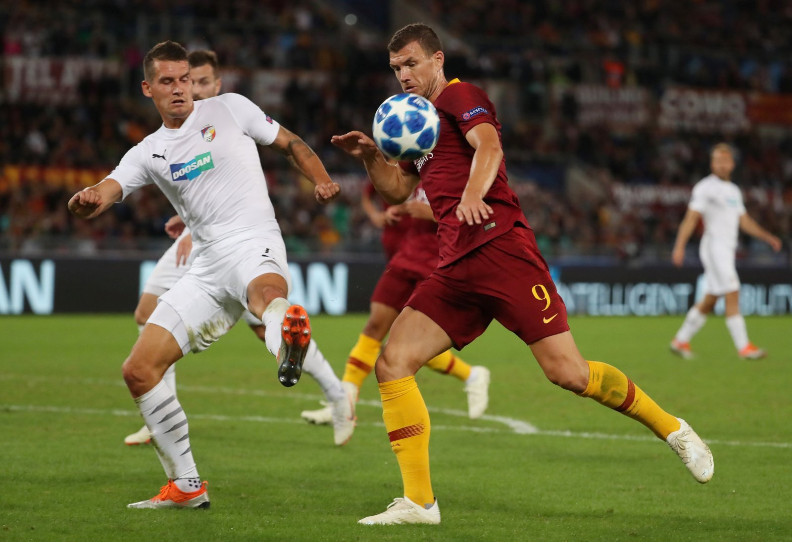 Crystal Palace simply have to replace Christian Benteke with Edin Dzeko