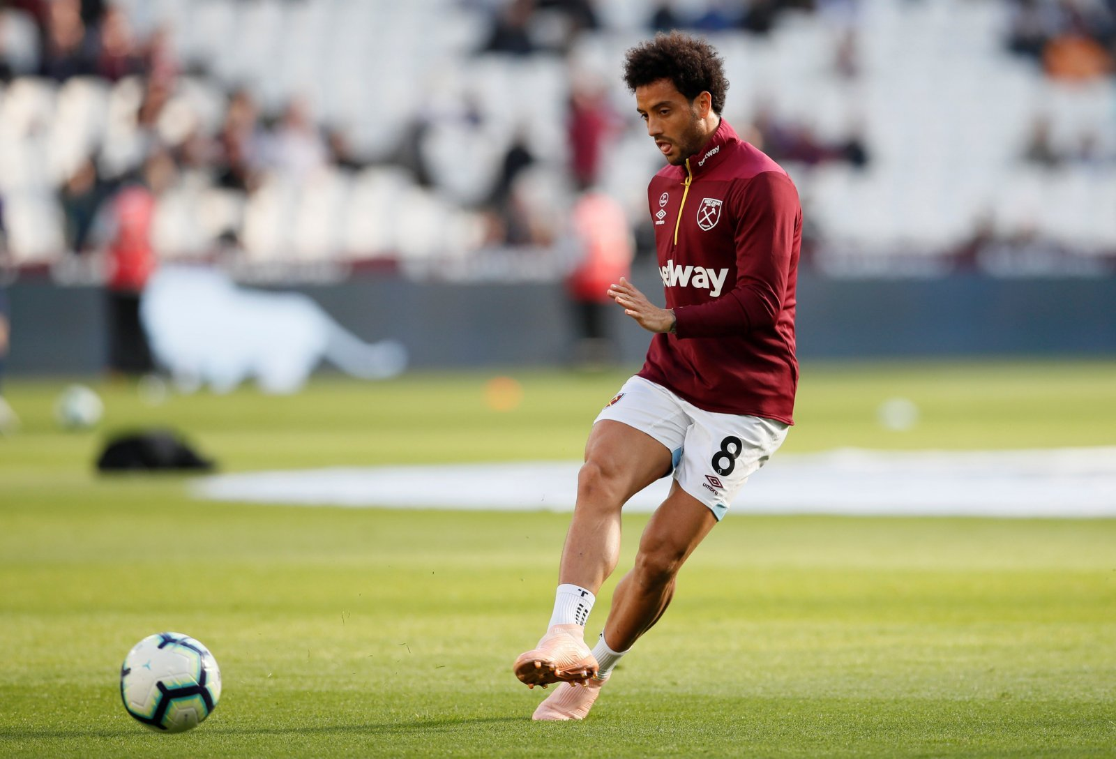 Felipe Anderson didn't know he was being watched by Brazil scouts