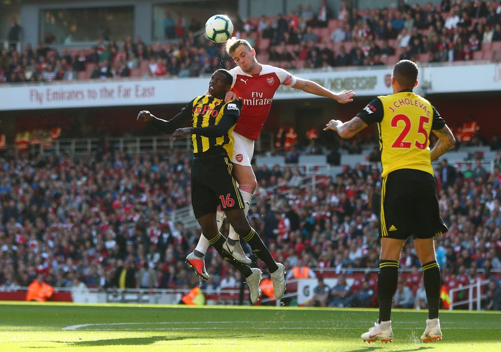 Rob Holding was Arsenal's unsung hero in Watford win