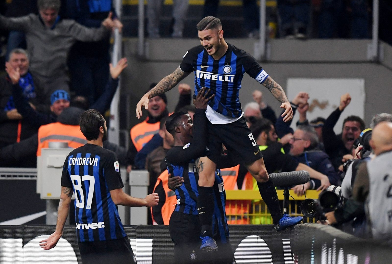 Chelsea fans on Twitter want Mauro Icardi after scoring the winner in the Milan Derby