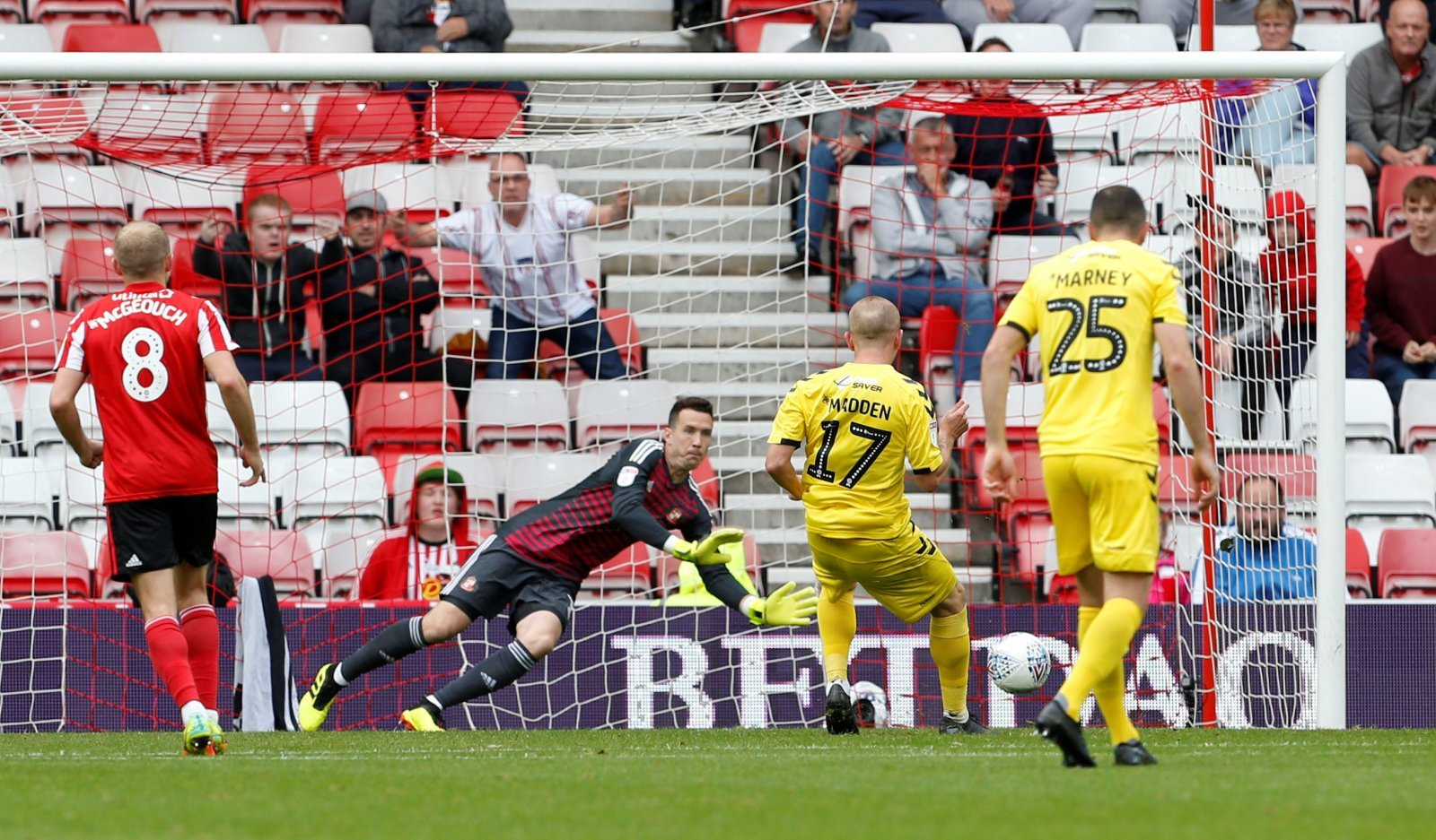 Sunderland fans react to Jon McLaughlin's Doncaster Rovers performance