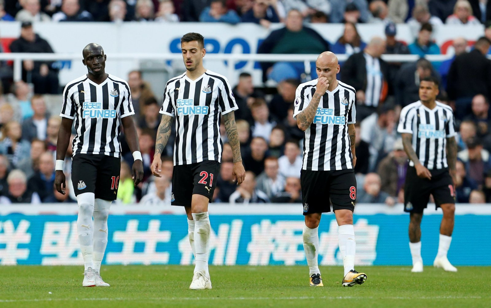 Frankly, these two Newcastle United men had a terrible weekend