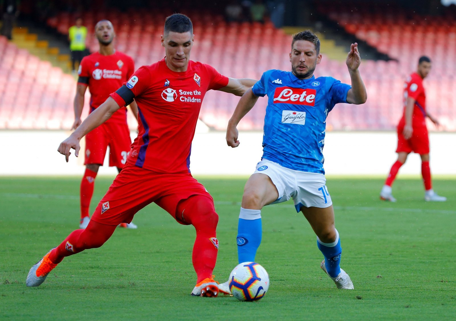 Nikola Milenkovic would be a very strong addition for Manchester United