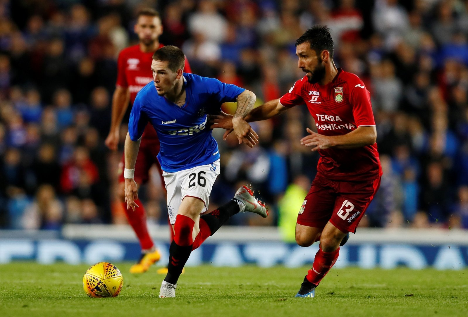 Rangers fans take to Twitter to call for permanent Kent transfer