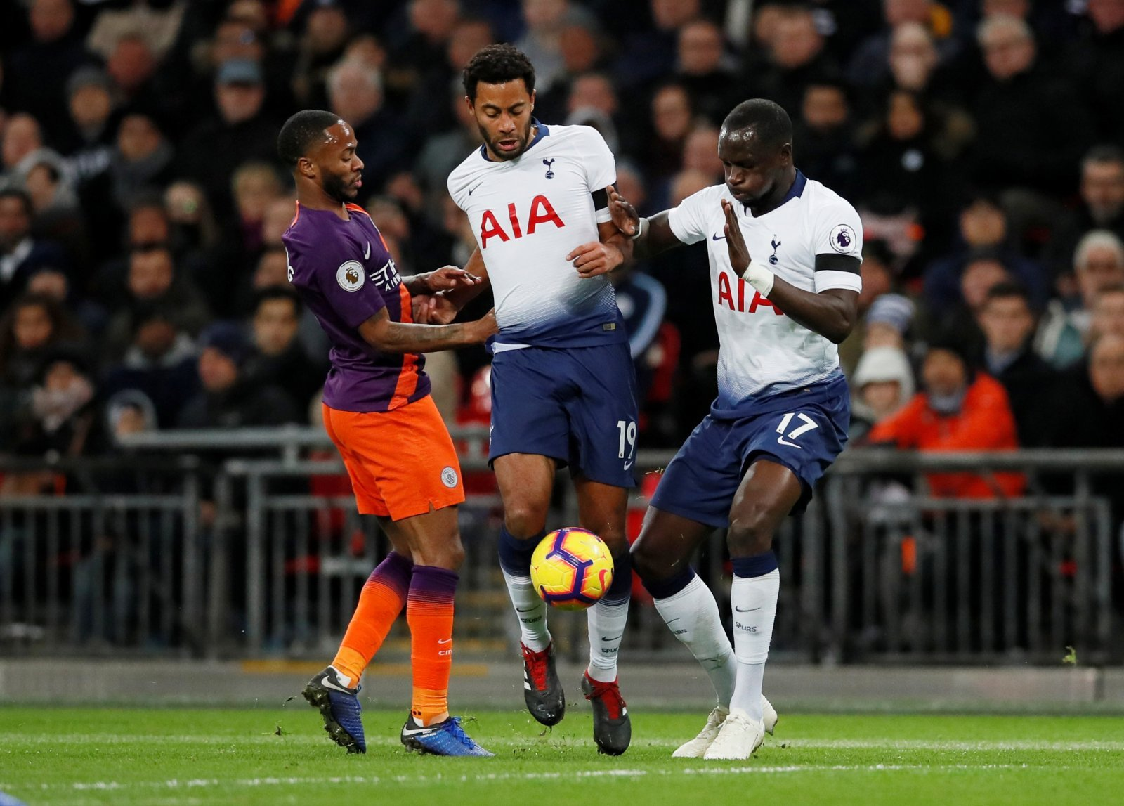 Tottenham fans take to Twitter to delight at Sissoko's timely return