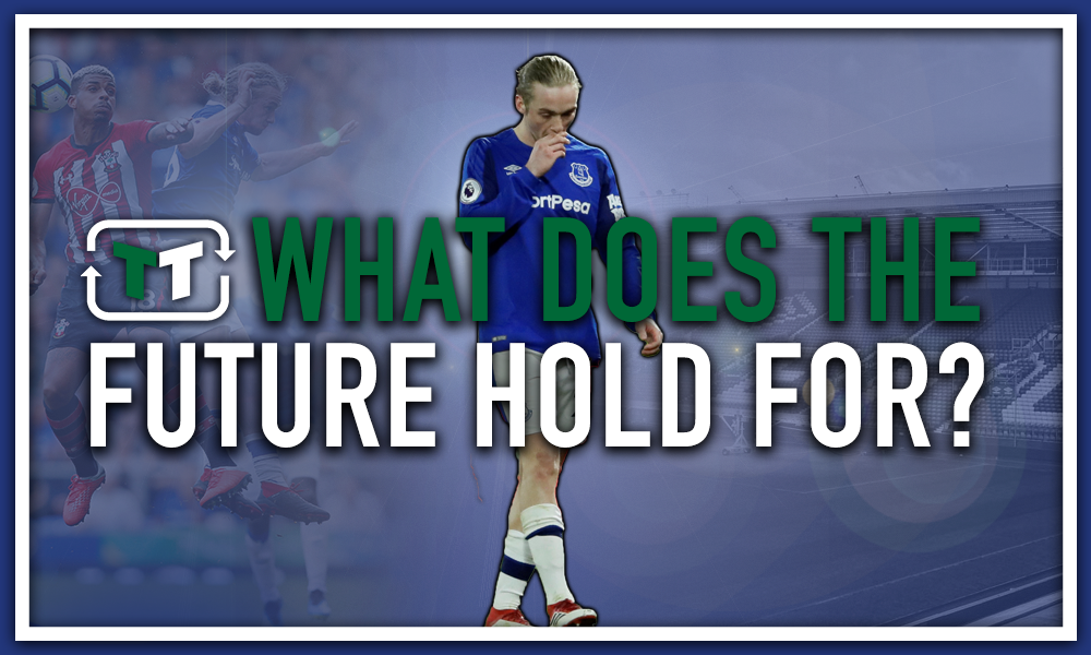 What does the future hold for Tom Davies at Everton?