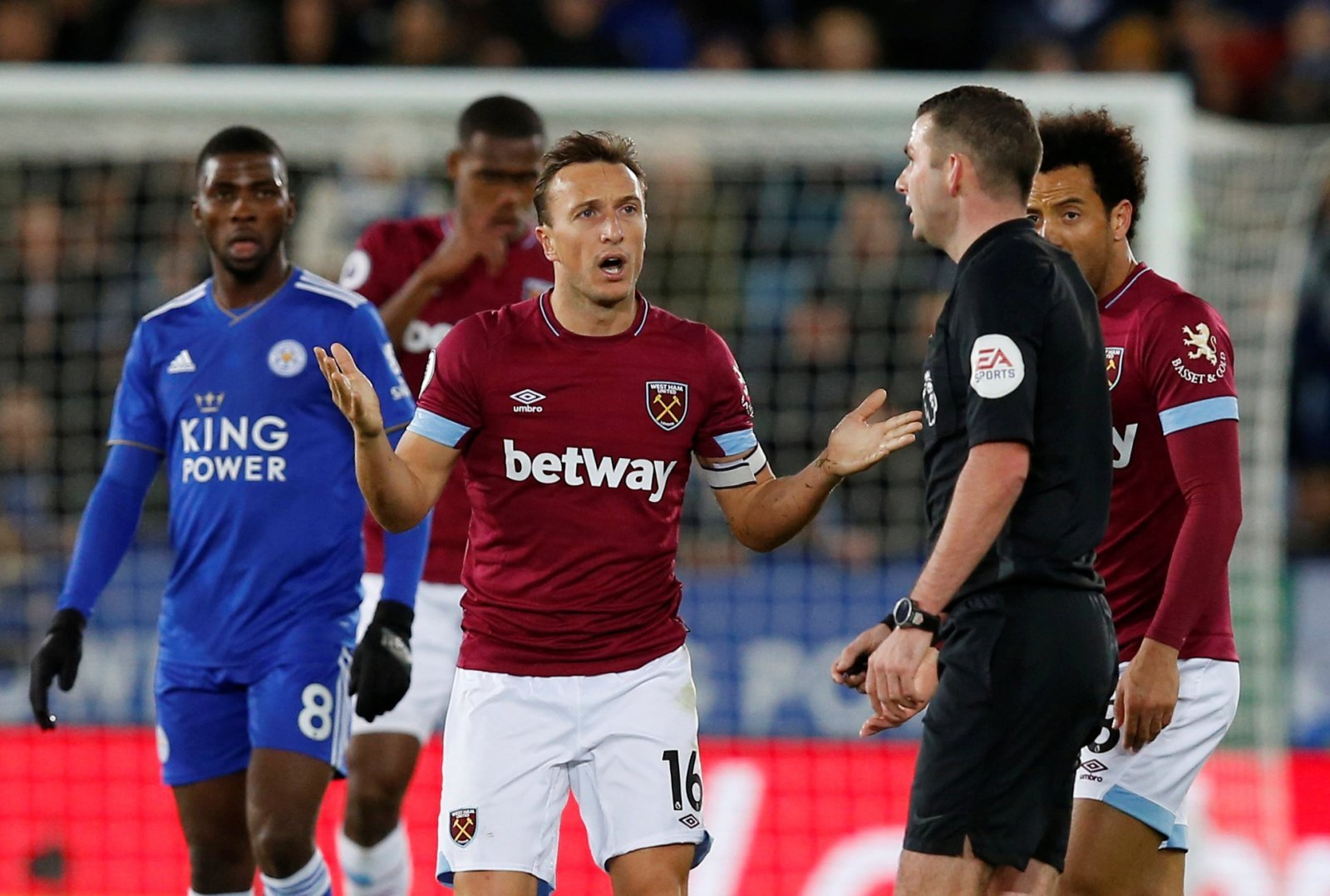 West Ham team news: Mark Noble continues to serve his suspension